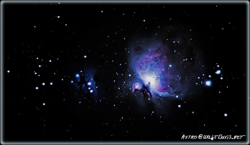 Astrophotography by Walt Davis